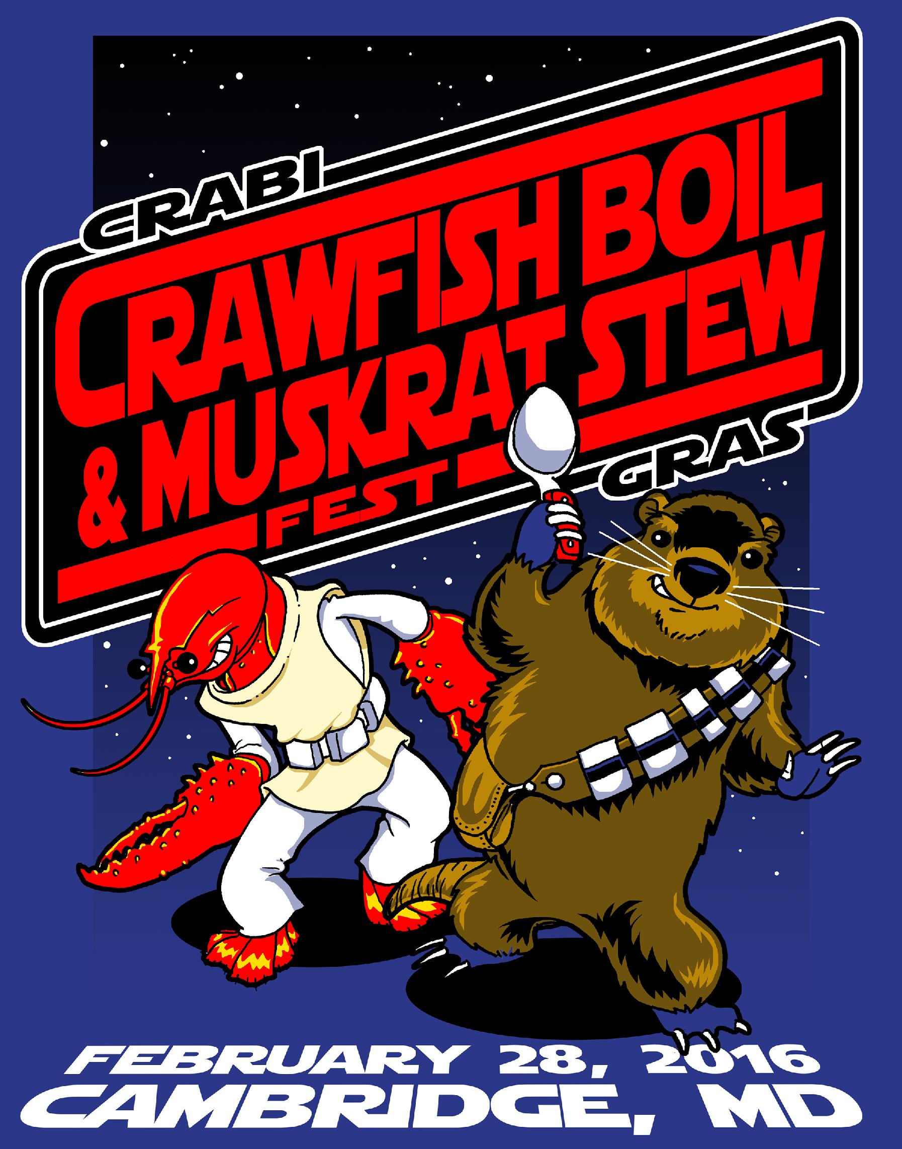 PRINCIPATO HEADLINES CRAWFISH BOIL AND MUSKRAT STEW FEST