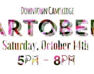 ARTober coming Second Saturday Oct. 14th