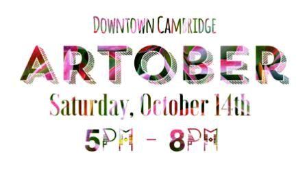 ARTober coming Second Saturday Oct. 14th