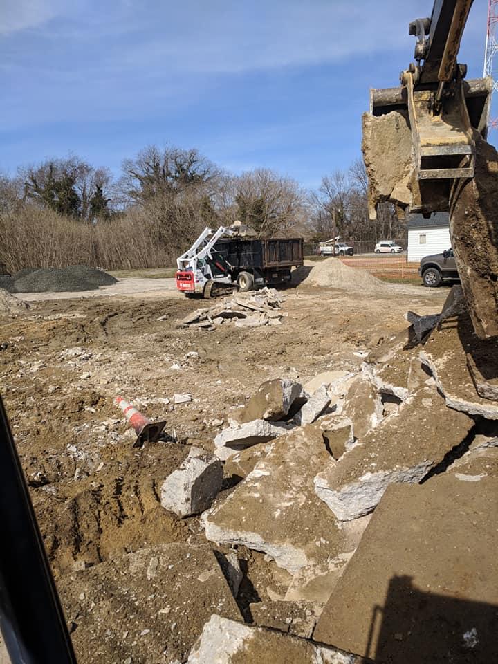"""Waugh Chapel Breaks Ground on """"Green"""" Parking Lot"""
