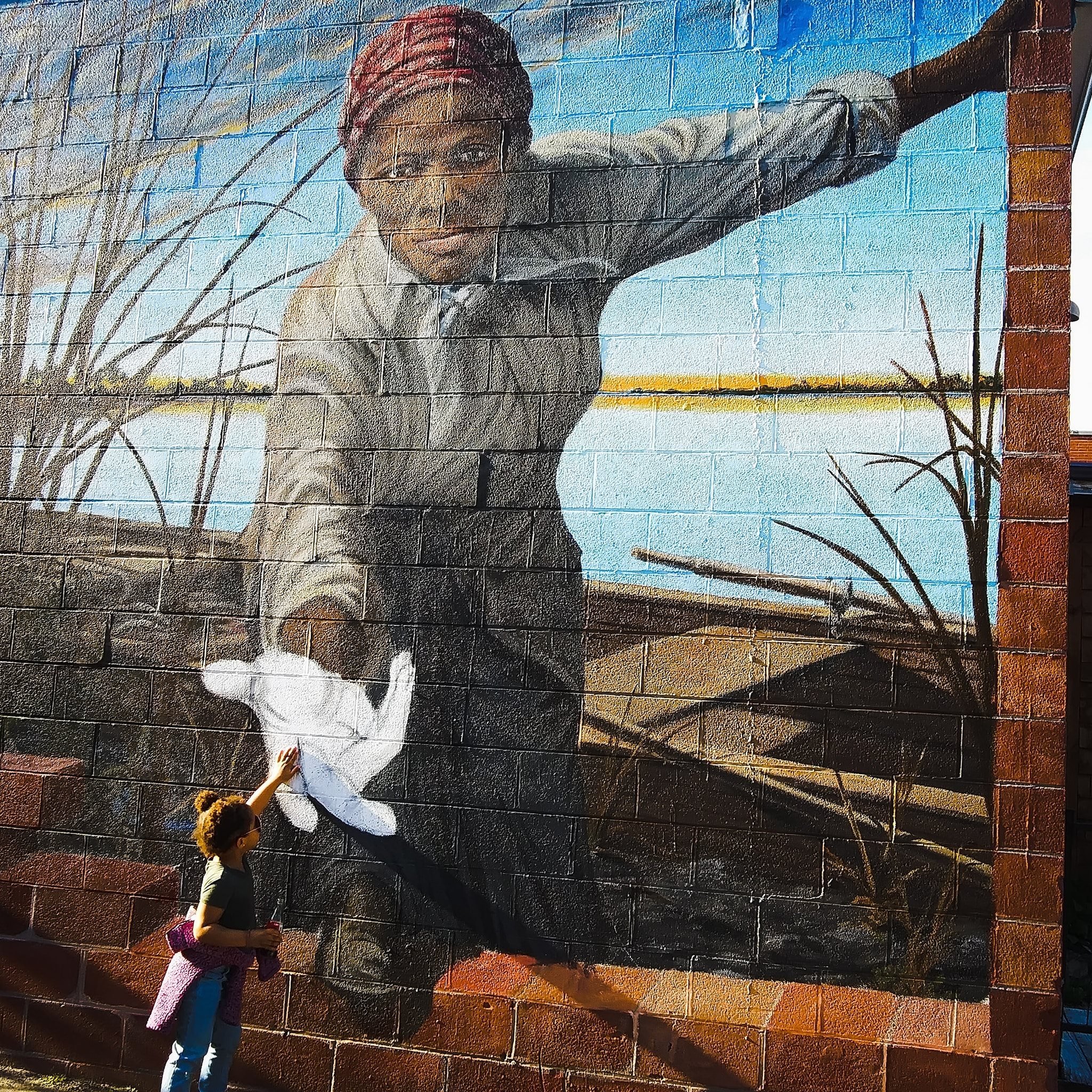 Rosato Harriet Tubman mural attracts national attention